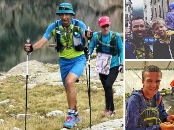 Les courses de l'Ultra Trail du Mont Blanc 2017 avec Bruno, Nico et Benoit
