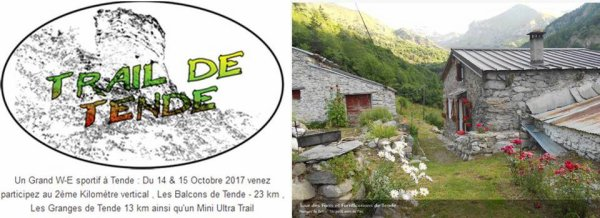 Prochainement sur sentiers - Gorbio et Tende (Trails et KV), Falicon et Baous (Trails)
