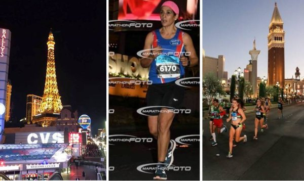 Le Marathon de Las Vegas 2017 avec Nadia Houara