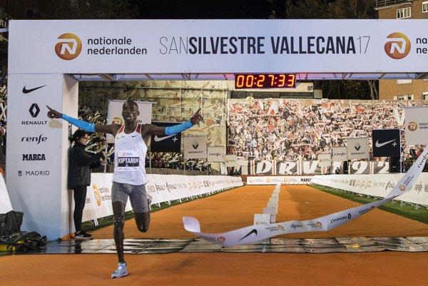 10 km de la San Silvestre Vallecana 2017 (Madrid) - L'ASPTT Nice avec David Gonzalez