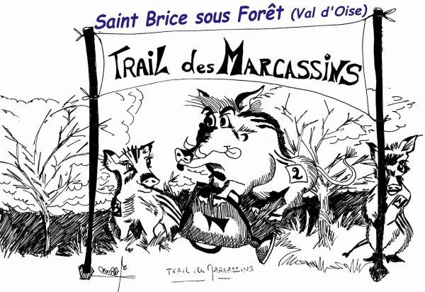 "Trail des Marcassins et Ice Fun Trail 2018 (95) - Bernard Lefevre adopte le ""mud trail"""