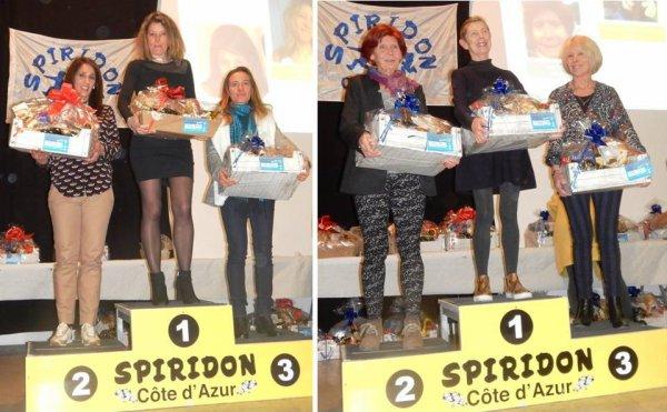 Challenge Spiridon Côte d'Azur 2017 - Nadia Houara et Jocelyne Gubbiotti lauréates
