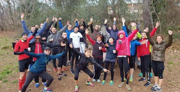 La Chandeleur 2018 avec l'ASPTT Nice Côte d'Azur Athlétisme