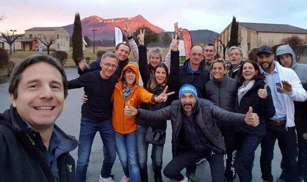 1/2 Finale des Championnats de France de Cross 2018 (Digne) - Magali 2ème Master