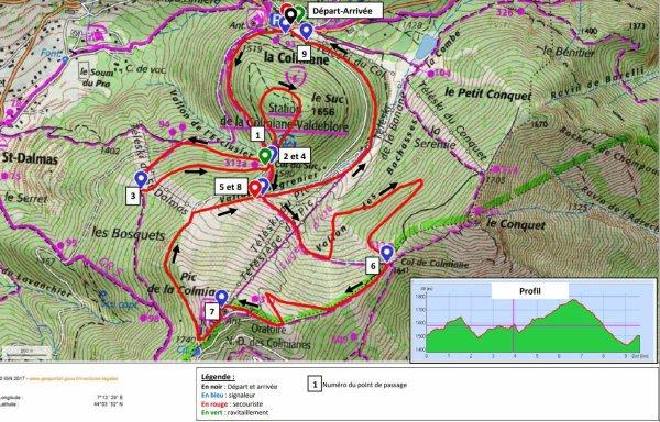 Snow Trail de La Colmiane 2018 (06) - David Demarty 1er Master 2