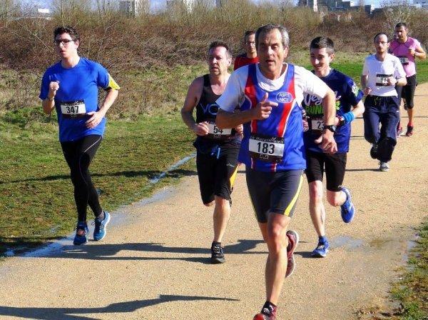 12 km de Carrières-sous-Poissy 2018 (78)... la course au soleil de Bernard Lefevre !