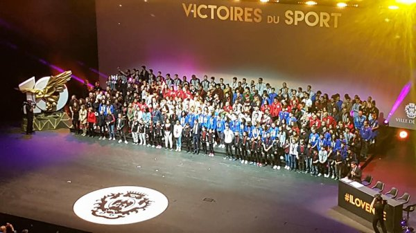 Les Victoires du Sport 2018 (Ville de Nice) - Jocelyne, Yolande et JB récompensés