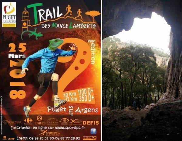 Trail des Mange-Lamberts 2018 (Puget-sur-Argens, 83)
