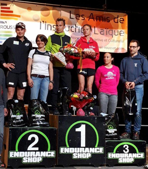 Trail Sainte-Victoire 2018 - Amandine 2ème et Vice-Championne « Trails de Provence »