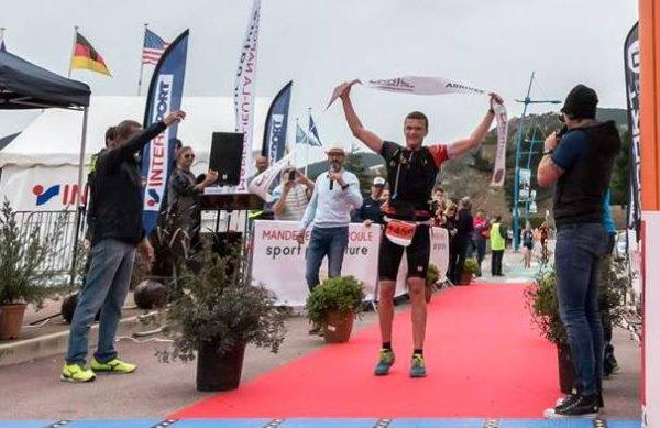 Trail des Balcons d'Azur 2018 (Estérel) - Benoit Outters vainqueur de l'Ultra TBA (80 km)