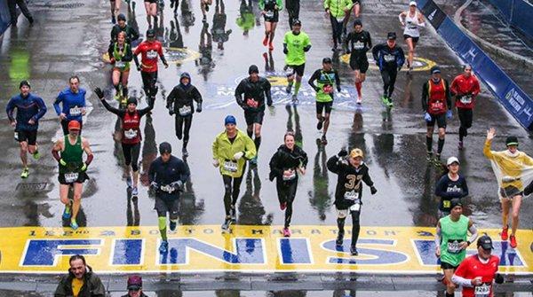 Marathon de Boston 2018 - Muriel Rolle contre vents et marées !