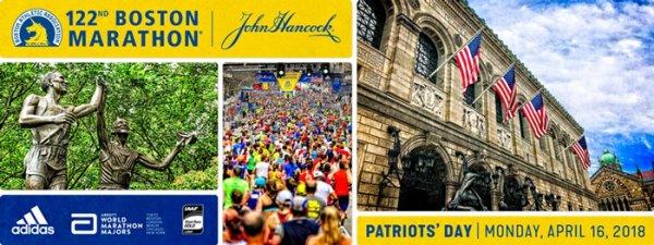 Marathon de Boston 2018 (USA) - Muriel Rolle contre vents et marées !