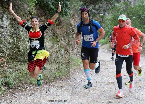 Ronde des Collines Niçoises 2018 - Max Maccio 1er, Romain Maurel 2ème, Céline 1ère