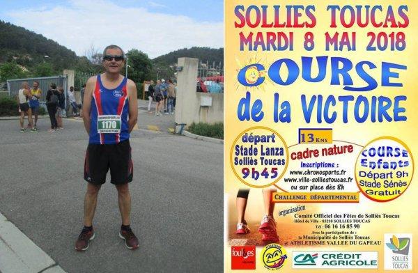 Course de la Victoire 2018 (Solliès-Toucas, Var) - Bernard Lefevre le retour...
