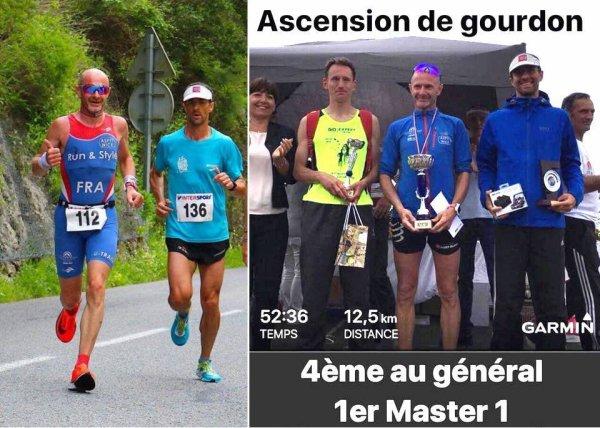 L'Ascension de Gourdon 2018 (06) - ... et de trois pour Maximilien Maccio (4ème) !