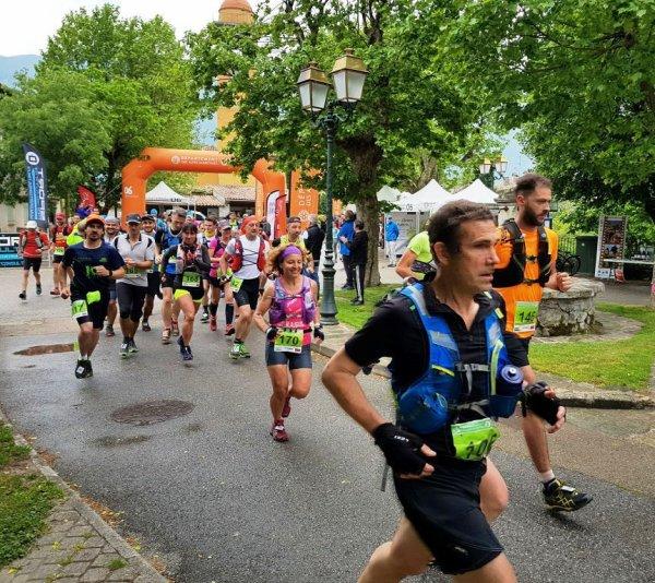 Trail de Massoins 2018 (06) - Isabelle Belia 4ème femme sur 22 km