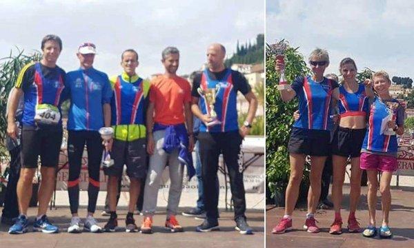 """Ronde des Plages 2018 (Menton) - Les équipes de l'ASPTT Nice """"virent"""" en tête !"""