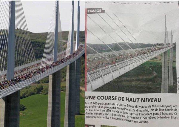 La Course Eiffage du Viaduc de Millau 2018 (Aveyron) - Eric Descamps 15ème scratch