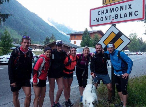 Les courses du Marathon du Mont-Blanc 2018 avec l'ASPTT Nice (Chamonix, 74)