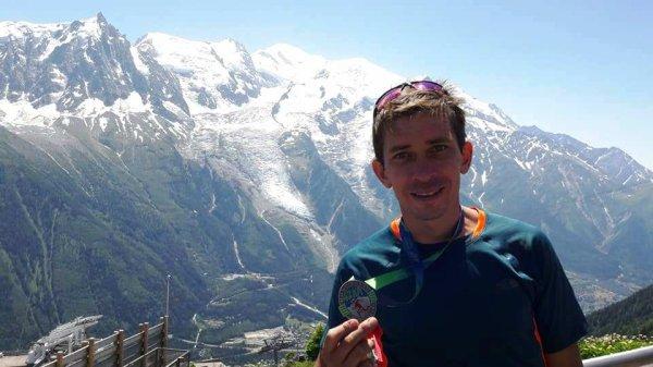 Les courses du Marathon du Mont-Blanc (suite) - Jany Nosmas 3ème Master 3 (23 km)