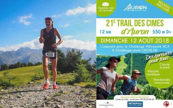 Trail des Cimes d'Auron 2018 (06) - Maximilien Maccio remporte la 21ème édition