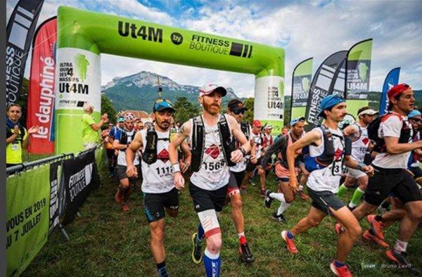 Ultra Tour des 4 Massifs 2018 (Grenoble, Isère) - Amandine Ginouves 4ème féminine