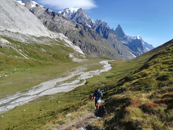"""UTMB - Nicolas Campodonico sur les """"Traces des Ducs de Savoie"""" 2018 (Chamonix)"""
