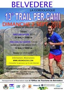 Trail Per Cami 2018 (Belvédère) - Top 10 pour Laurent Antoniucci et Baptiste Bonhomme
