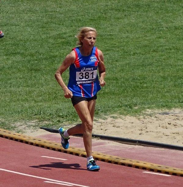 10 km de Lyon 2018 -  Yolande Marchal 1ère Master 4