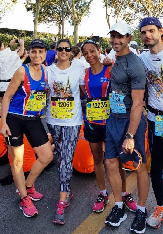 Les 20 km de Paris 2018 - Alexandre, Odete et Farida ont mouillé le maillot...