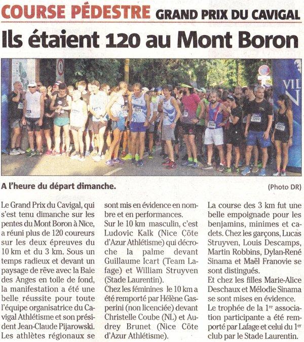 Cavigal, Tende, Saint-Tropez, Limours, Vélizy, Nice...L'ASPTT Nice sur tous les fronts !