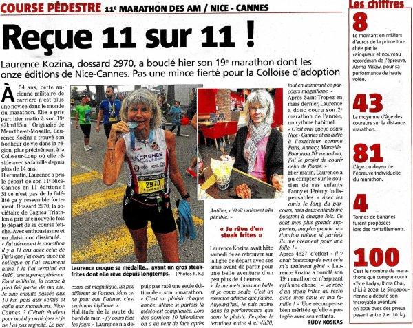"""Marathon Nice-Cannes 2018 - L'équipe """"ASPTT Girls"""" remporte le relais féminin"""