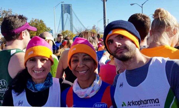 Marathon de New-York 2018 - L'ASPTT Nice y était avec Farida et Odete