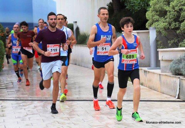 Cross du Larvotto 2018 (Monaco) - Une saison cross bien lancée à l'ASPTT Nice