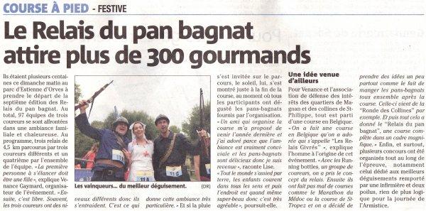 Li Relais Dou Pan Bagnat 2018 (Nice) - L'ASPTT Nice dans quatre équipes du Top 10... dont l'équipe victorieuse avec Magali