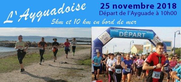 10 km de l'Ayguadoise 2018 (Hyères, Var)