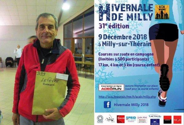 Hivernale de Milly 2018 (Oise) - Une météo à ne pas mettre un azuréen dehors...