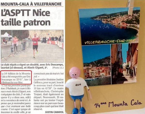Mounta Cala Villafranca 2018 (Villefranche sur Mer) - Triplé de l'ASPTT Nice Côte d'Azur !