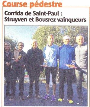 La Corrida de Saint-Paul-de-Vence 2018 - Bruno Lagarde de retour sur route ?
