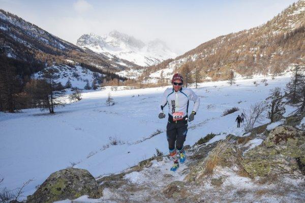 Trail Blanc de La Clarée (Névache, 05) 2019 - Top 10 féminin pour Jany Nosmas