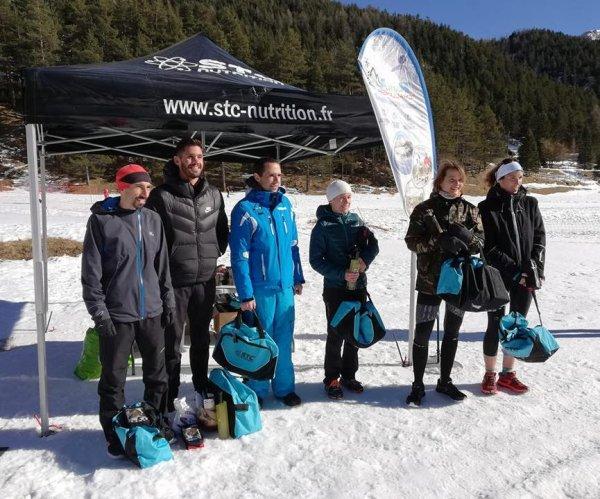 Trail des Neiges 2019 (Castérino) - Charly Dalfin 2ème, Jany Nosmas 7ème femme