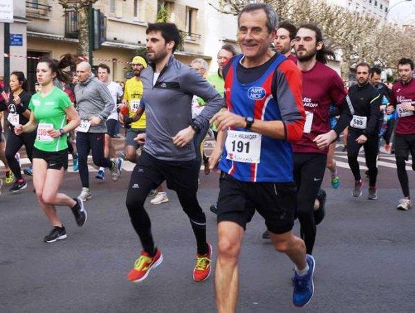 Foulées de Malakoff 2019 (92) - Nathalie Quesnot 2ème Master 1 sur 5 km