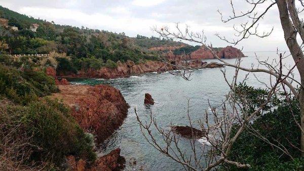 L'Estérel, terrain de jeu pour Fartlek taille XXL - L'ASPTT Nice Côte d'Azur sur sentiers...