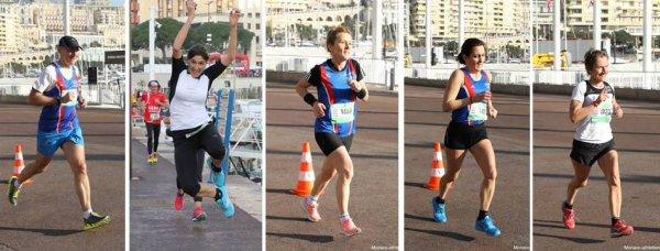 Monaco Run 2019 - Magali 3ème femme sur le 5 km route, huit podiums en catégorie