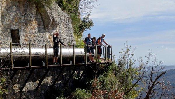 Des traileurs de l'ASPTT Nice Côte d'Azur sur le chemin du paradis...