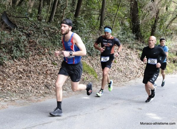 Urban Trail de Mougins 2019 - L'ASPTT Nice sur 15 km avec Arnaud, Sylvain, Alexandre