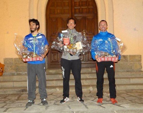 Trail Nocturne des Abeilles 2019 (Roquebillière) - Victoire d'Eric Descamps !