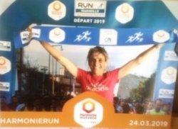 Run in Marseille 2019 - Magali 7ème et 2ème Master 2 (10 km), Jean-André 32ème (Semi)