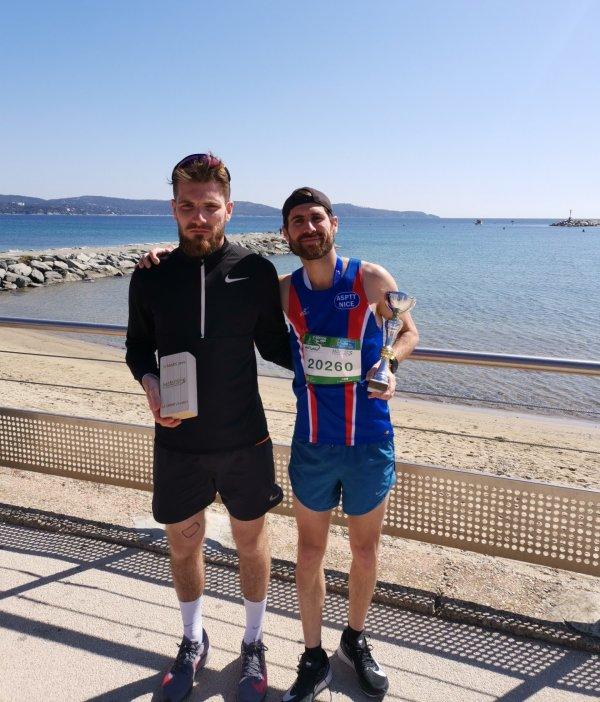 Marathon du Golfe de Saint-Tropez 2019 - Jean-André Brun et Alex Augst 3ème en duo