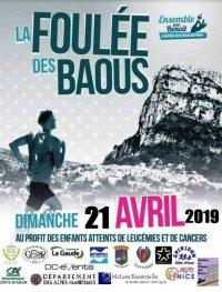 21 avril 2019 - La Foulée des Baous (4,5 km, 10 km...)